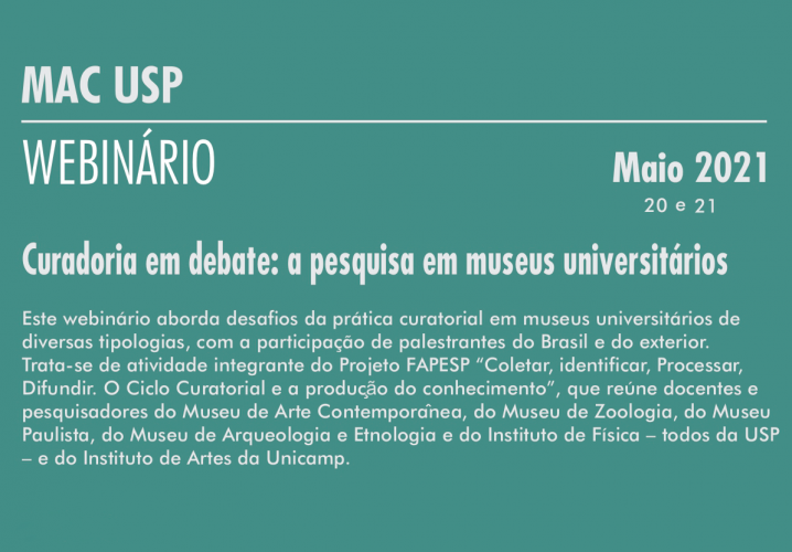 Curadoria em debate: a pesquisa em museus universitários