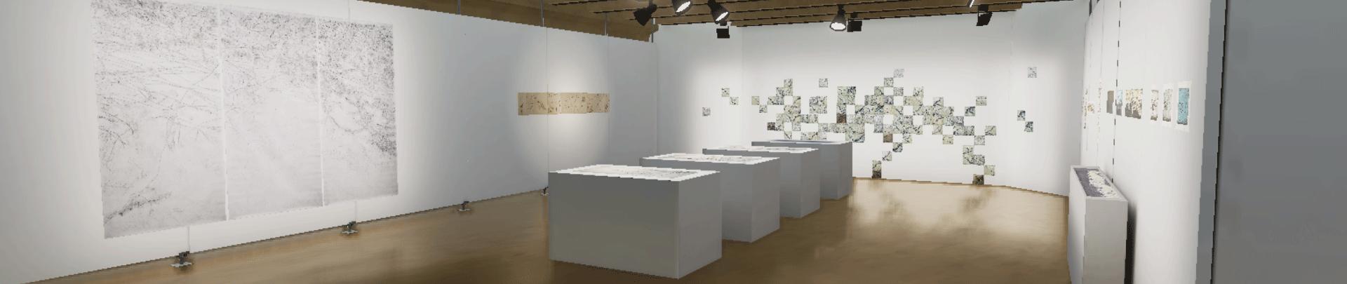 imagem exposição Memórias Inventadas de Um Jardim da artista Flávia Fábio