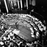 1º concerto coral Unicamp – Catedral de Campinas – 1971